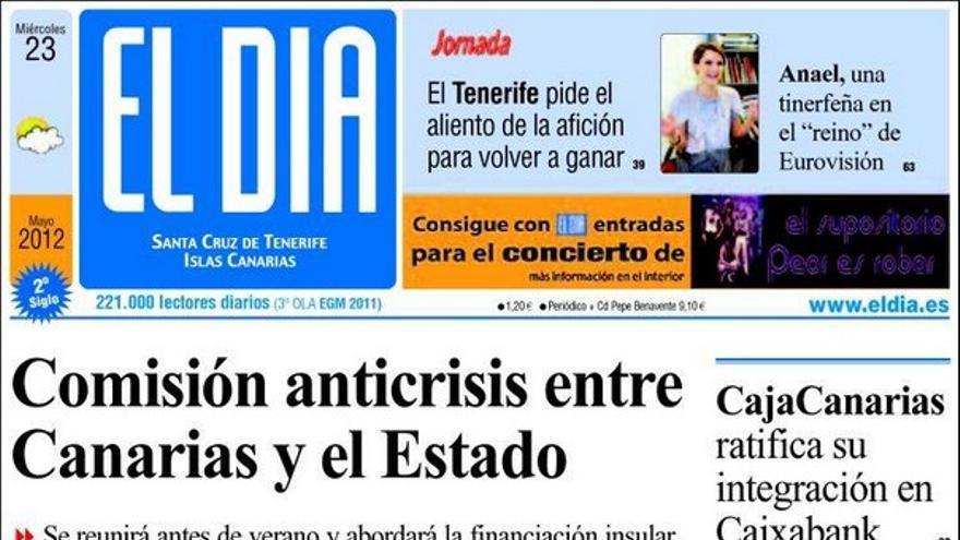 De las portadas del día (23/05/2012) #4