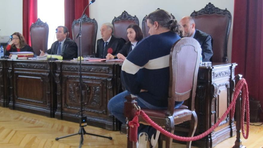 El acusado, durante el juicio en la Audiencia Provincial de Toledo