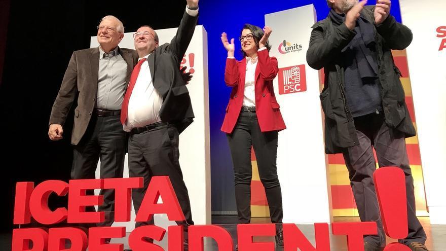 """Iceta reivindica que el PSC quiere la reconciliación pero Cs """"la revancha"""""""