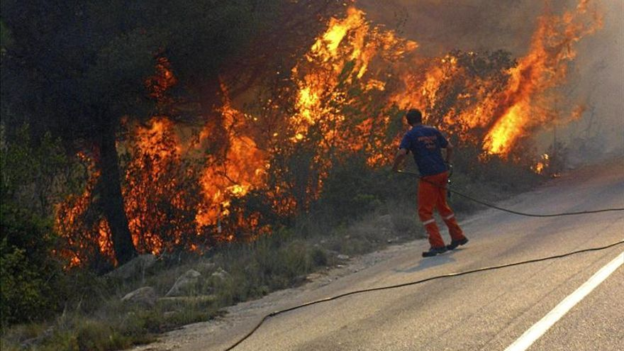 El incendio de Jávea afecta a 439 hectáreas, de las que 413 son forestales