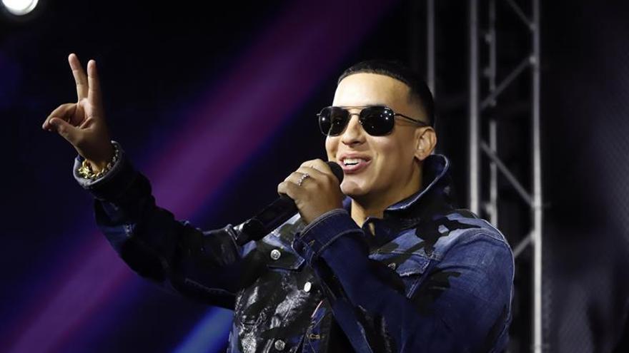 En la imagen un registro del reguetonero puertorriqueño Daddy Yankee.