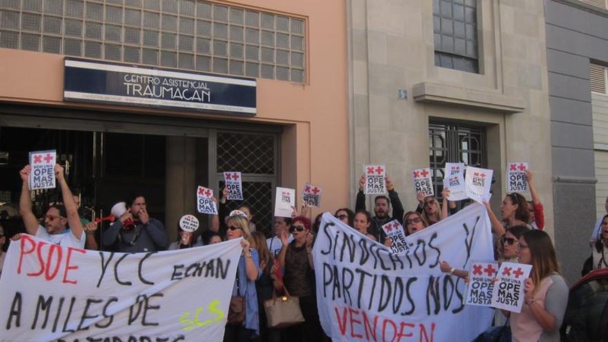 Sanidad y sindicatos pactan un nuevo modelo de listas de contratación. Europa Press.