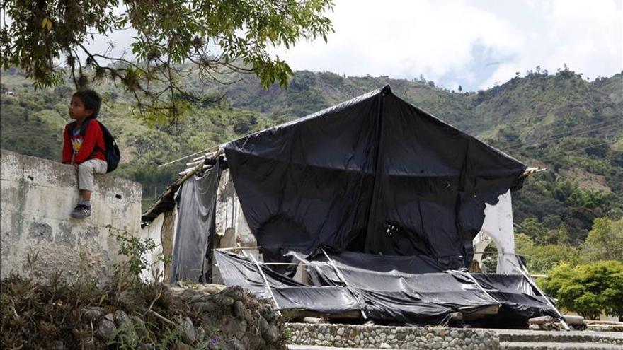 Más de 700 indígenas desplazados por los combates del ELN y el Ejército en Colombia, según Acnur