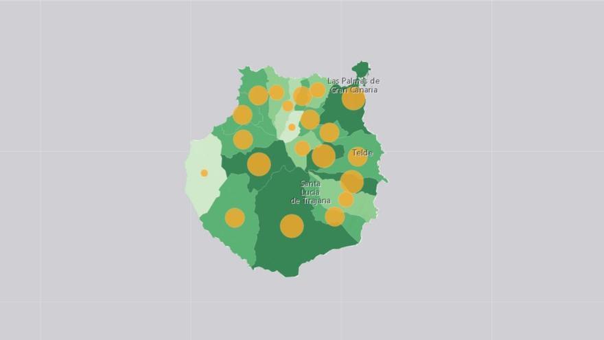 """Los indicadores epidemiológicos de Gran Canaria auguran una prórroga del nivel de alerta 3: """"No mejora como esperábamos"""""""