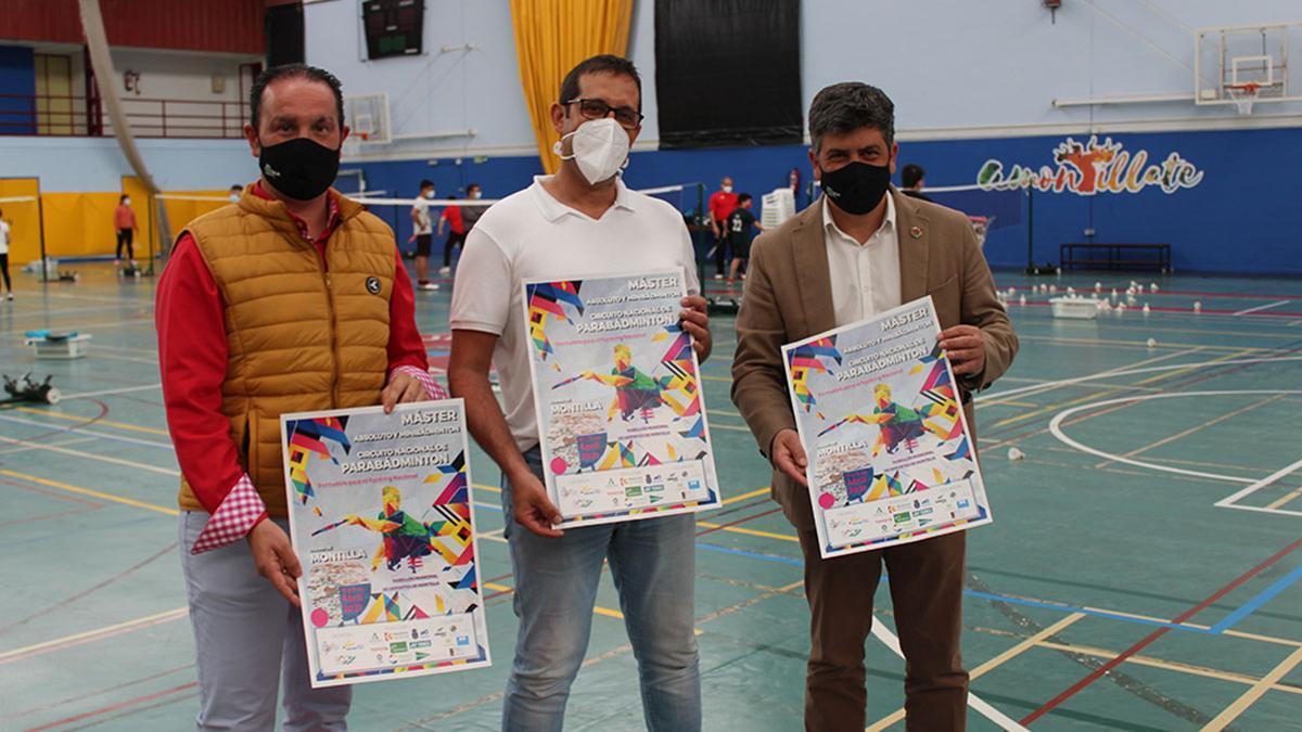 Presentación del Máster Absoluto, Minibádminton y Parabádminton en Montilla