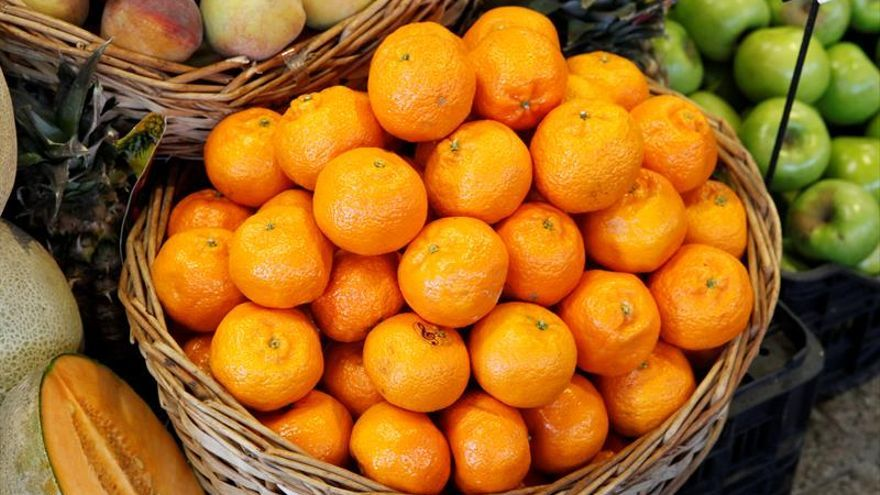 Los españoles sólo consumen el 58 % de la ración de fruta y verdura recomendada