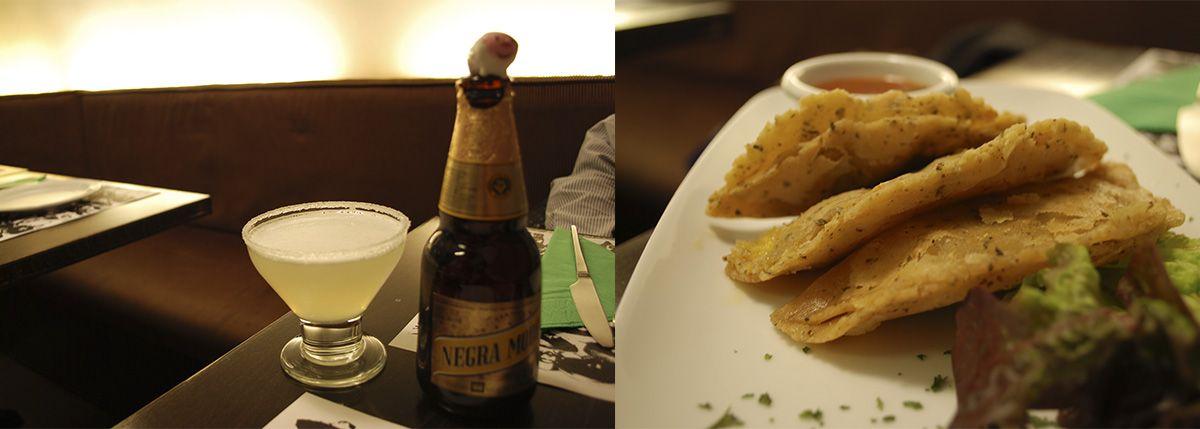 Díptico cerveza y quesadillas_Malasaña a mordiscos_Chilango