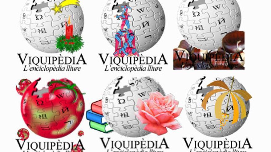 Las vikibolas de la Wikipedia catalana cambian según la celebración