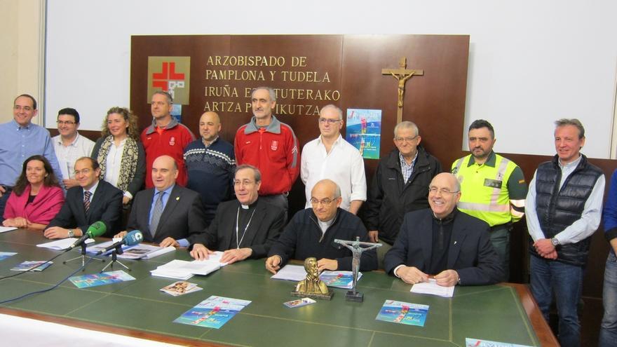 Navarra espera 50.000 peregrinos para celebrar el 75º aniversario de las Javieradas, este año los día 8 y 14 de marzo
