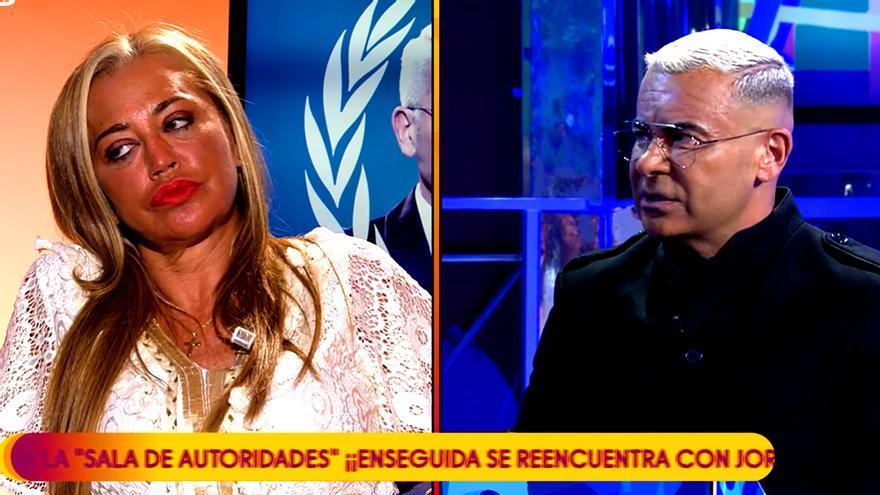 Belén Esteban y Jorge Javier en 'Deluxe'