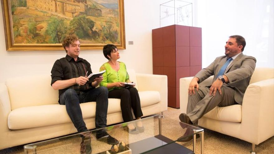 I-E, Podemos y EH Bildu, con percepciones dispares de la investidura en Navarra