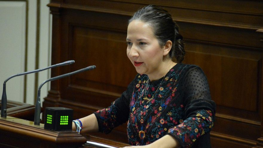 Lorena Hernández Labrador, diputada por  La Palma del grupo Popular en el Parlamento de Canarias.