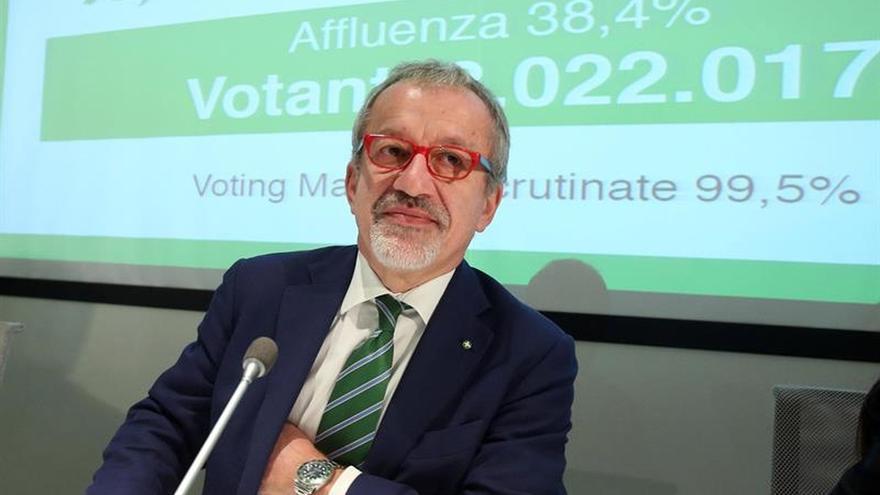 Lombardía y Veneto reclaman más autonomía al Estado en referéndum consultivos