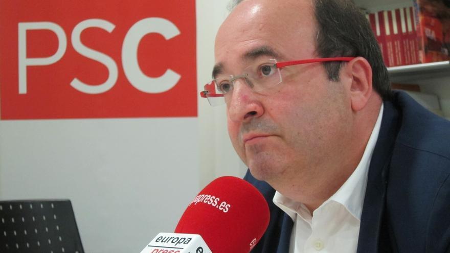 """Iceta sobre Parlon (PSC): """"Si quiere cambiar de líder hay que votar"""""""