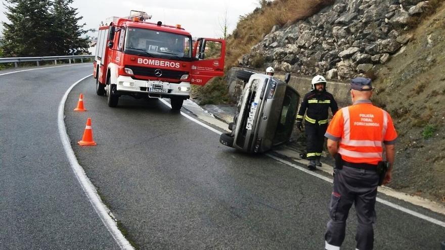 La Policía Foral atiende esta mañana siete accidentes de tráfico en distintas vías