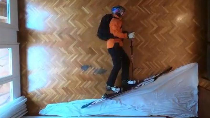 Agudizando el ingenio con el ski casero