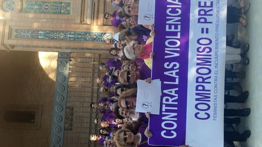 Concentración en Sevilla contra la violencia machista /Foto: MB