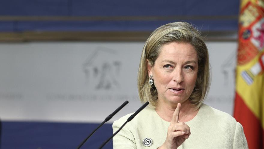 Ana Oramas, presidenta de la comisión de investigación sobre el rescate bancario
