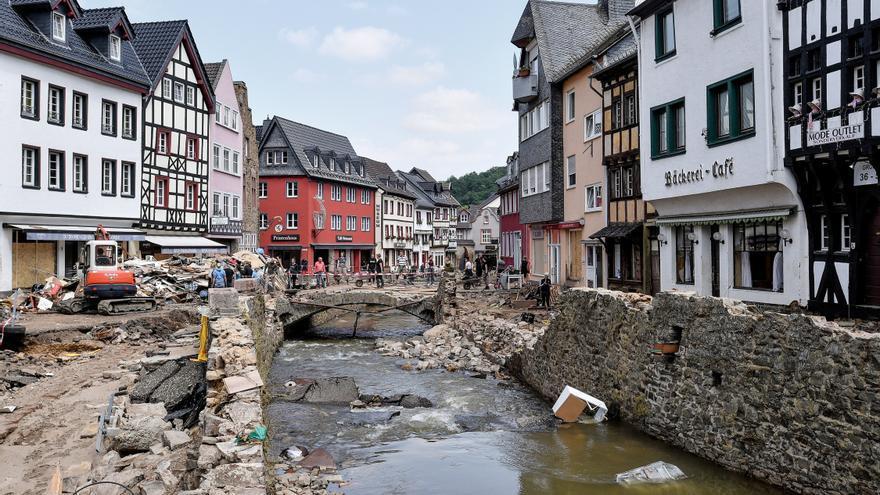 El Gobierno alemán aprueba ayudas de 200 millones para los afectados por las inundaciones