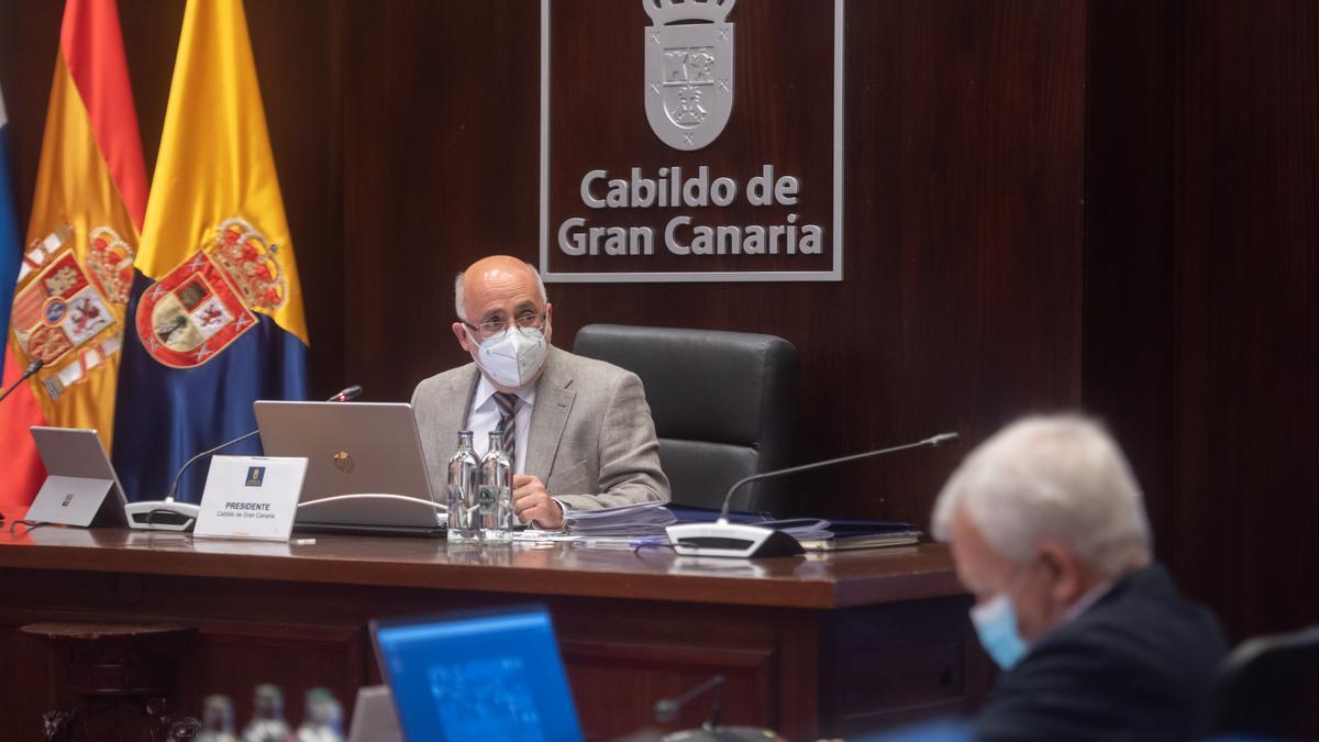 El presidente del Cabildo de Gran Canaria, Antonio Morales.