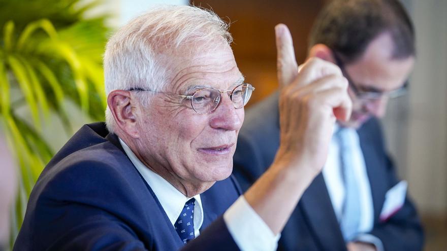 Josep Borrell, en el Parlamento Europeo.