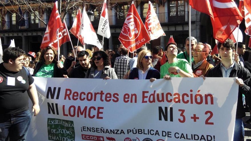 Huelga Educación Castilla-La Mancha
