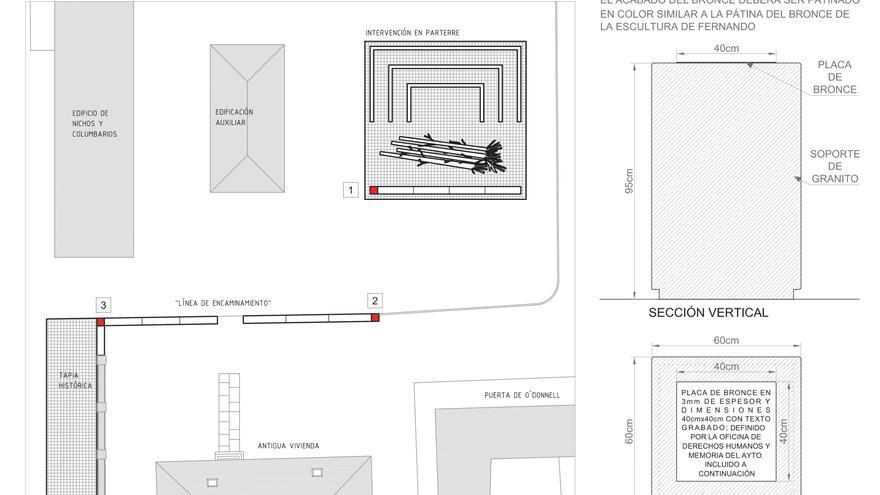 Documentación gráfica del proyecto memorial.