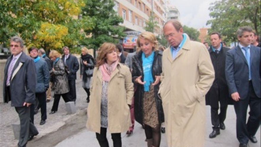 Esperanza Aguirre, Pío García Escudero Y Soraya Saénz De Santamaría