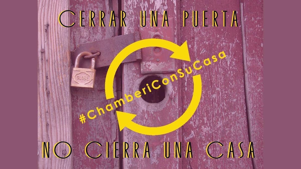 Mensaje publicado por la Casa de Cultura de Chamberí después de decidir la entrega de llaves