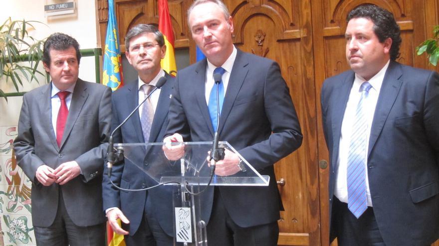 """Fabra dice que el PP valenciano """"siempre"""" ha trabajado con arreglo al dinero que disponía el partido"""