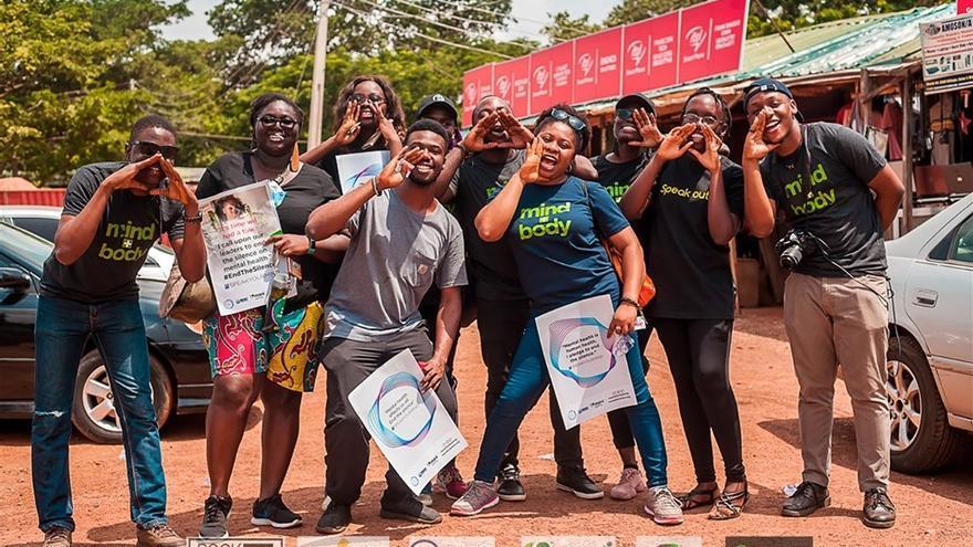 #SpeakYourMind es una campaña para presionar a las autoridades nigerianas a actuar en cuanto a la salud mental.