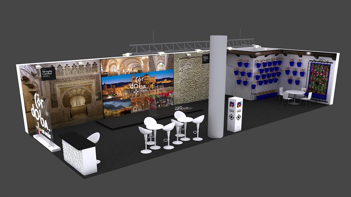El stand propio que llevará Córdoba a Fitur 2021