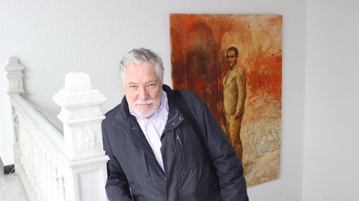 El director del documental, Adolfo Dufour.