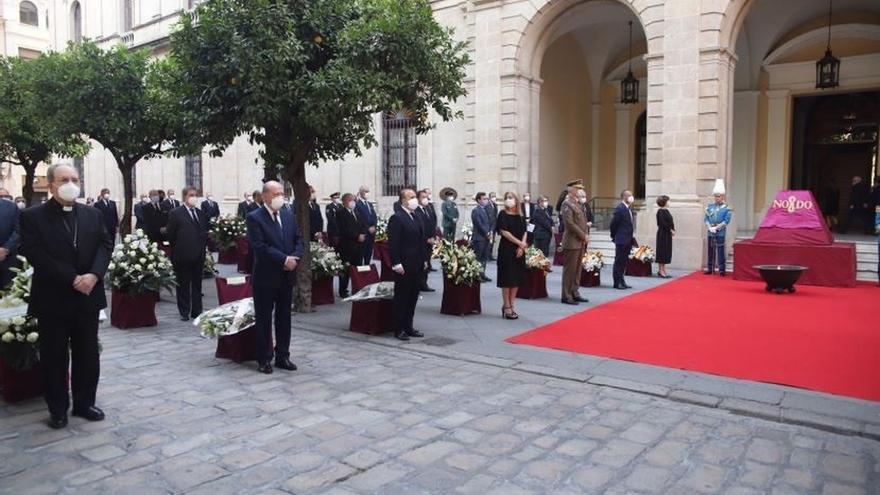Recuerdan a las víctimas del Covid-19 en el acto de homenaje con motivo del Día de San Fernando