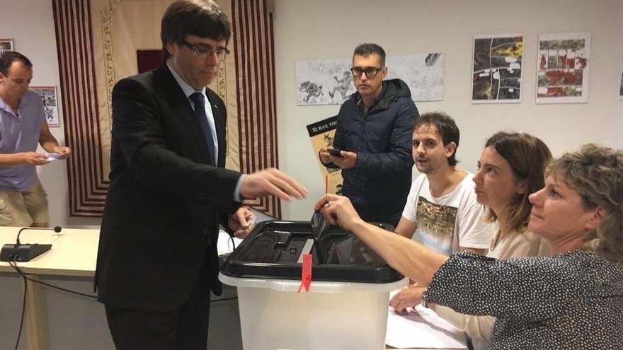 """Puigdemont: """"Ya me siento el presidente de un país libre"""""""