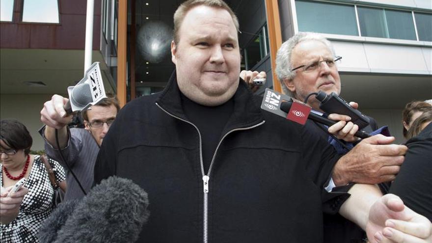 Dotcom deja la mansión por un apartamento en Auckland por falta de fondos