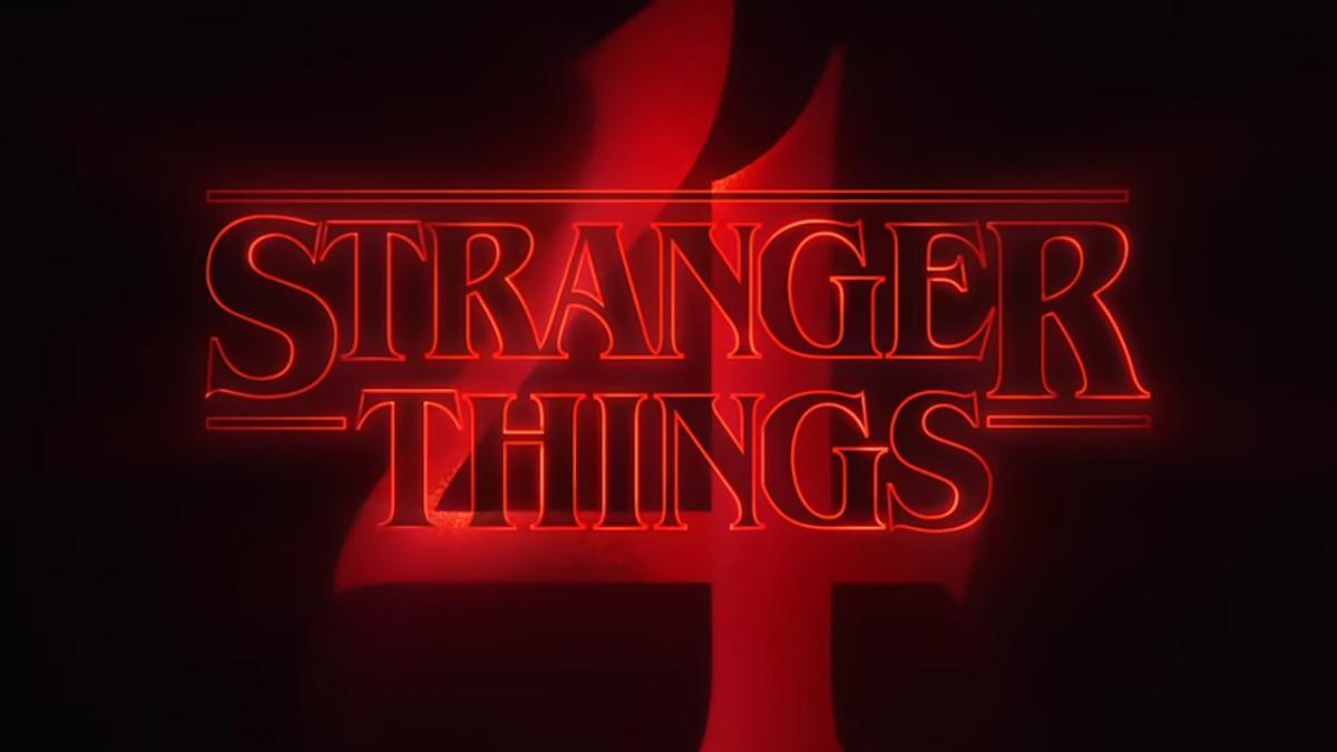 Logo de la cuarta temporada de 'Stranger Things'