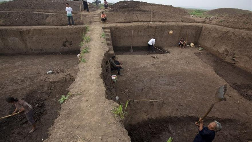 Hallan 6 ciudades enterradas en un mismo yacimiento en el centro de China