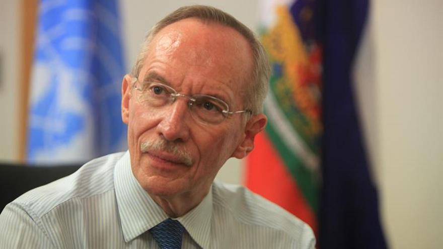El guatemalteco Edmond Mulet, nuevo jefe del comité sobre armas químicas en Siria