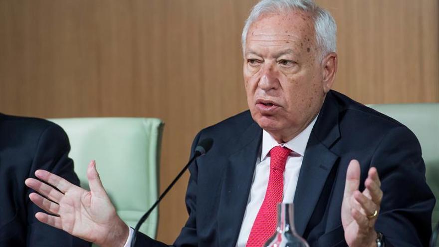 García-Margallo pide gran pacto que respete gobierno del partido más votado