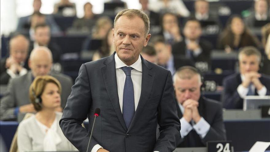 Tusk pide mejorar la imagen de la UE, que sigue siendo el mejor sitio para los refugiados