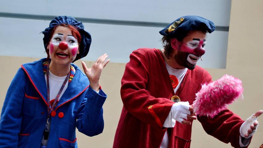 Actores de Clownbaret, en una imagen de archivo