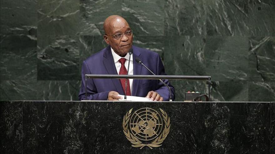 La Policía sudafricana investiga por corrupción al presidente Jacob Zuma