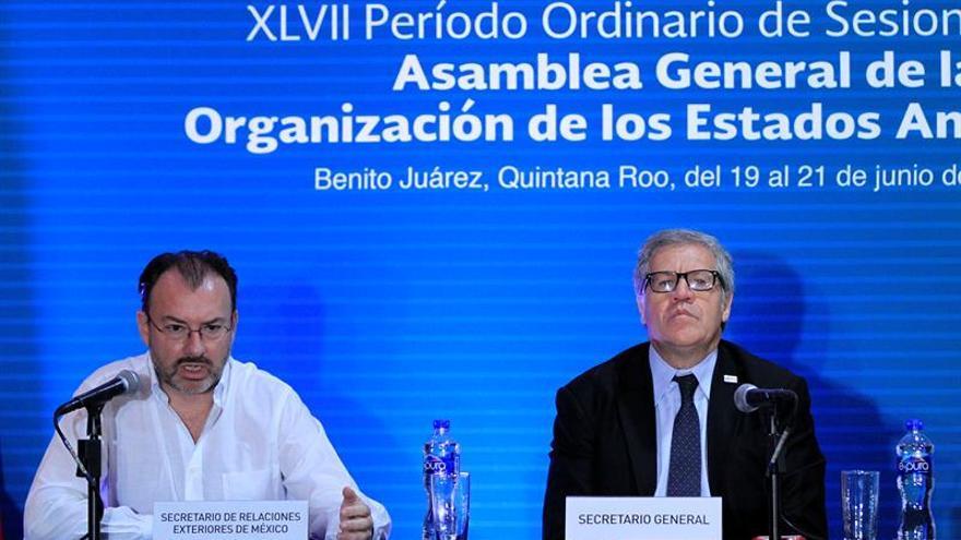 Comienza la reunión de cancilleres de la OEA sobre Venezuela en Cancún