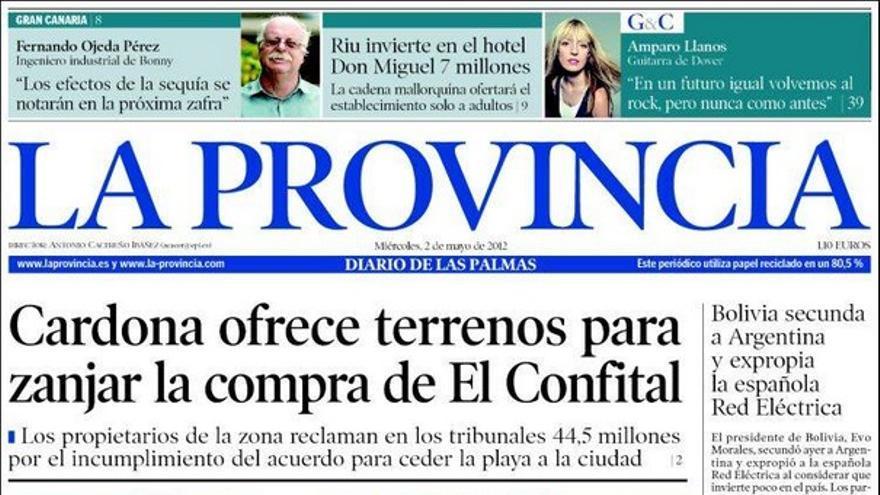 De las portadas del día (02/05/2012) #1