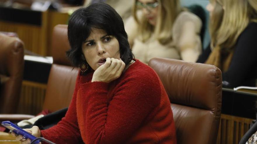 """Teresa Rodríguez pide al Gobierno ser """"valiente"""" frente al """"ruido de sables"""""""