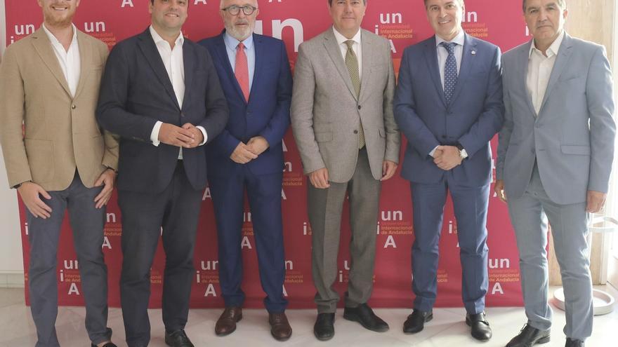 Espadas y Maldonado inauguran en la UNIA una jornada sobre autoconsumo eléctrico como oportunidad de empleo