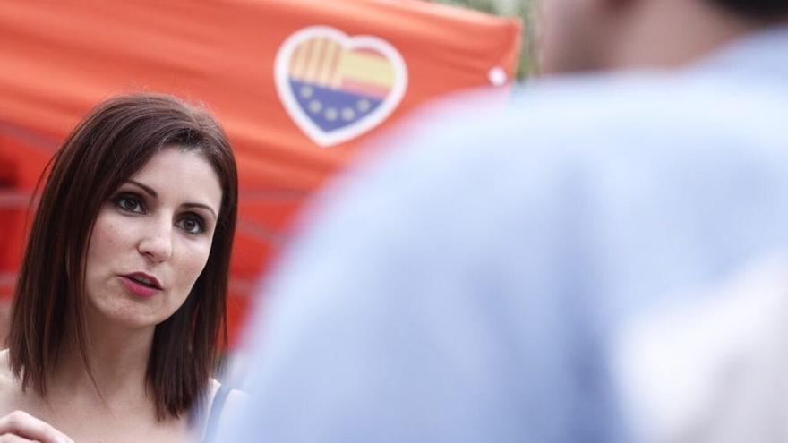 """Lorena Roldán (Cs): """"Puigdemont está situado en el 'game over', no tiene ni apoyo interno"""""""