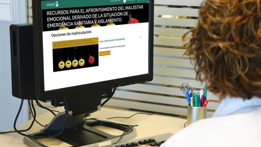 Plataforma online del SESCAM