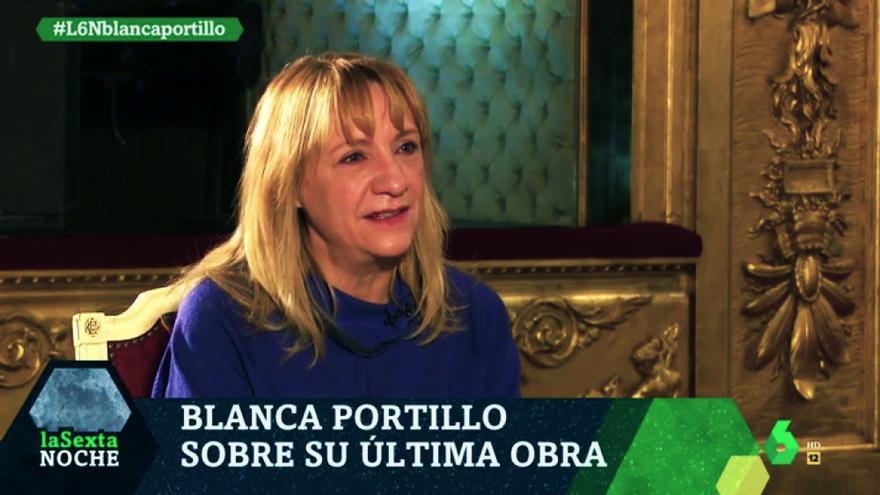 """Blanca Portillo en """"laSexta Noche"""""""